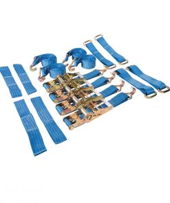 car transporter tie down set