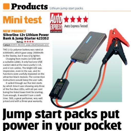 Jump starter and power bank