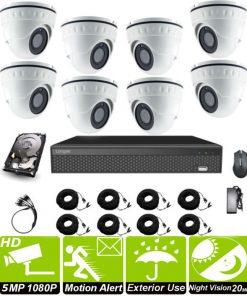 8 camera CCTV kit